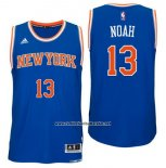 Camiseta New York Knicks Joakim Noah #13 Azul