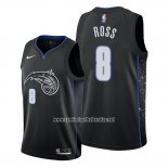 Camiseta Orlando Magic Terrence Ross #8 Ciudad Negro