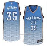 Camiseta Resonate Moda Oklahoma City Thunder Kevin Durant #35 Azul