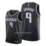 Camiseta Sacramento Kings B.j. Johnson #9 Statement Negro