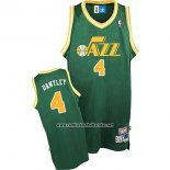 Camiseta Utah Jazz Adrian Dantley #4 Retro Verde