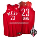 Camiseta All Star 2016 Anthony Davis #23 Rojo