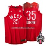 Camiseta All Star 2016 Kevin Durant #35 Rojo