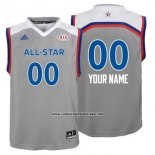 Camiseta All Star 2017 Adidas Personalizada Gris