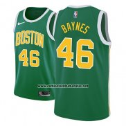 Camiseta Boston Celtics Aron Baynes #46 Earned 2018-19 Verde