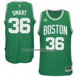 Camiseta Boston Celtics Marcus Smart #36 Verde