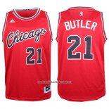Camiseta Chicago Bulls Jimmy Butler #21 Retro Rojo