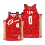 Camiseta Cleveland Cavaliers Kevin Love Mitchell & Ness Rojo
