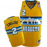 Camiseta Denver Nuggets Alex English #2 Amarillo
