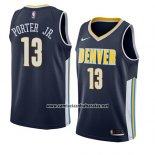 Camiseta Denver Nuggets Michael Porter Jr. #13 Icon 2018 Azul
