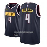 Camiseta Denver Nuggets Paul Millsap #4 Icon 2018-19 Azul