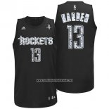 Camiseta Diamonds Editon Houston Rockets James Harden #13 Negro