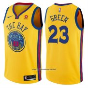 Camiseta Golden State Warriors Draymond Green #23 Ciudad Amarillo