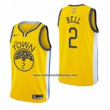 Camiseta Golden State Warriors Jordan Bell #2 Earned 2018-19 Amarillo