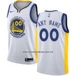 Camiseta Golden State Warriors Nike Personalizada 2017-18 Amarillo