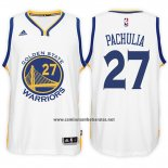 Camiseta Golden State Warriors Zaza Pachulia #27 Blanco