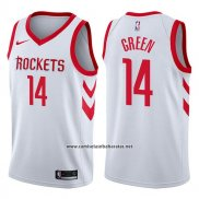 Camiseta Houston Rockets Gerald Green #14 Association 2017-18 Blanco