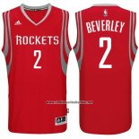 Camiseta Houston Rockets Patrick Beverley #2 Rojo