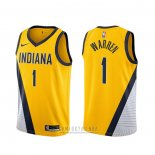 Camiseta Indiana Pacers T.j. Mcconnell #9 Statement 2019-20 Oro