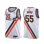 Camiseta Los Angeles Clippers Joakim Noah #55 Classic Edition Blanco