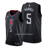 Camiseta Los Angeles Clippers Montrezl Harrell #5 Statement Negro