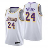 Camiseta Los Angeles Lakers Kobe Bryant Association #24 2018-19 Blanco