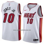 Camiseta Miami Heat Derrick Jones Jr. #10 Association 2018 Blanco