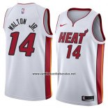 Camiseta Miami Heat Derrick Walton Jr. #14 Association 2018 Blanco