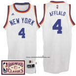 Camiseta New York Knicks Arron Afflalo #4 Retro Blanco