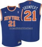 Camiseta New York Knicks Iman Shumpert #21 Azul