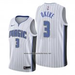 Camiseta Orlando Magic Chuma Okeke #3 Association 2019-20 Blanco