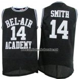 Camiseta Pelicula Bel-Air Academy Smith #14 Negro