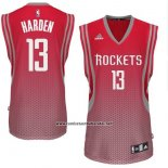 Camiseta Resonate Moda Houston Rockets James Harden #13 Rojo
