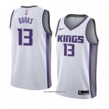 Camiseta Sacramento Kings Alec Burks #13 Association 2018 Blanco
