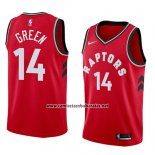 Camiseta Toronto Raptors Danny Green #14 Icon 2018 Rojo