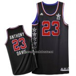 Camiseta All Star 2015 Anthony Davis #23 Negro
