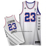 Camiseta All Star 2015 Lebron James #23 Blanco