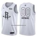 Camiseta All Star 2018 Houston Rockets Nike Personalizada Blanco