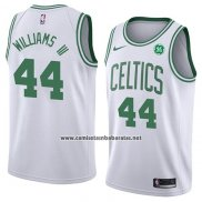 Camiseta Boston Celtics Williams III #44 Association 2018 Blanco