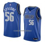 Camiseta Dallas Mavericks Ray Spalding #56 Icon 2018 Azul