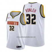 Camiseta Denver Nuggets Noah Vonleh #32 Association 2019-20 Blanco