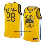 Camiseta Golden State Warriors Alfonzo Mckinnie #28 Earned 2018-19 Amarillo