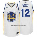 Camiseta Golden State Warriors Andrew Bogut #12 Blanco