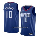 Camiseta Los Angeles Clippers Jerome Robinson #10 Icon 2018 Azul