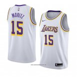 Camiseta Los Angeles Lakers Wagner Moritz #15 Association 2018-19 Blanco
