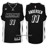 Camiseta Miami Heat Chris Andersen #11 Negro