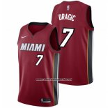 Camiseta Miami Heat Goran Dragic #7 2017-18 Rojo