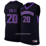 Camiseta NCAA Washington State Markelle Fultz #20 Negro