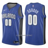 Camiseta Orlando Magic Aaron Gordon #00 Icon 2017-18 Azul