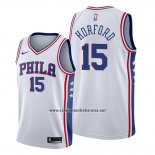 Camiseta Philadelphia 76ers Al Horford #15 Association Blanco